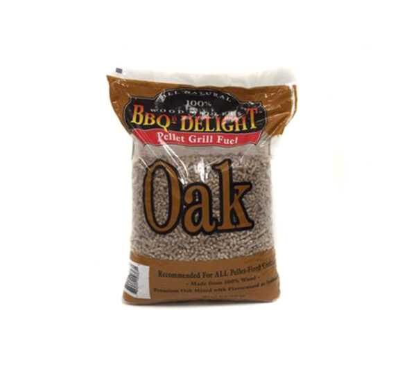 BBQ'rs Delight Oak Pellets - 9kg