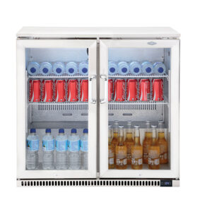 Beefeater 190L Double Door Fridge