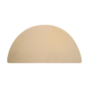 Big Green Egg Half Moon Baking stone for XL Egg