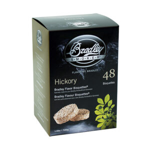 Bradley Bisquettes Hickory (48 Pack)