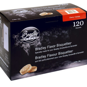 Bradley Bisquettes Cherry (120 Pack)