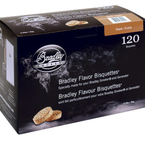 Bradley Bisquettes Maple (120 Pack)