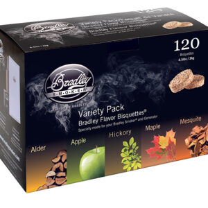 Bradley Bisquettes Variety pack (120 Pack)