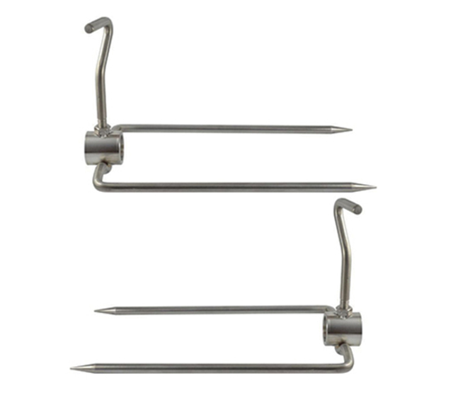 Flaming Coals 22mm Spit Roaster Prongs-Large