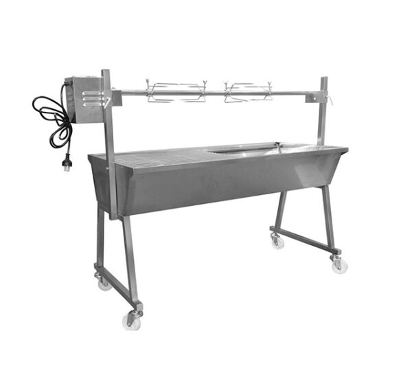 Flaming Coals 1200mm Stainless Steel Spit