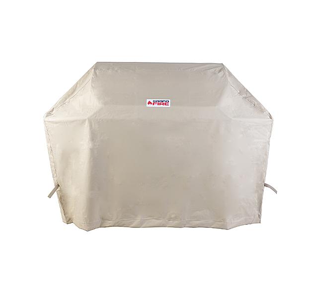 "Full Length Cover 18 Ceramic Grill on Stainless Steel Cart"""