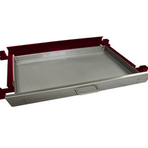 Heatlie 1150mm Claret Powder Coated Warming draw