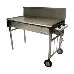 Heatlie 1150mm Stainless Steel Mobile BBQ