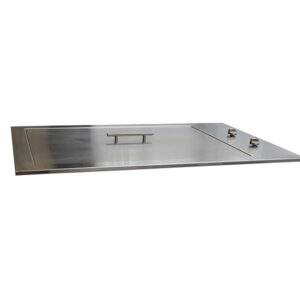 Heatlie Island Gourmet 850mm Flat Top