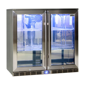 Rhino GSP 2 Door Fridge 840mm high