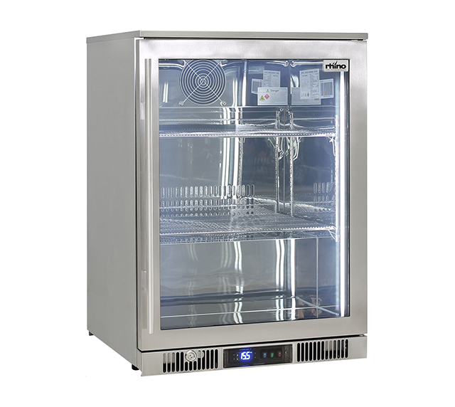 Rhino Envy single door fridge Right hand hinge