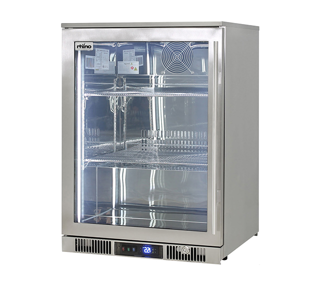 Rhino Envy single door fridge Left hand hinge