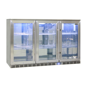 Rhino GSP 3 Door Fridge 865mm high