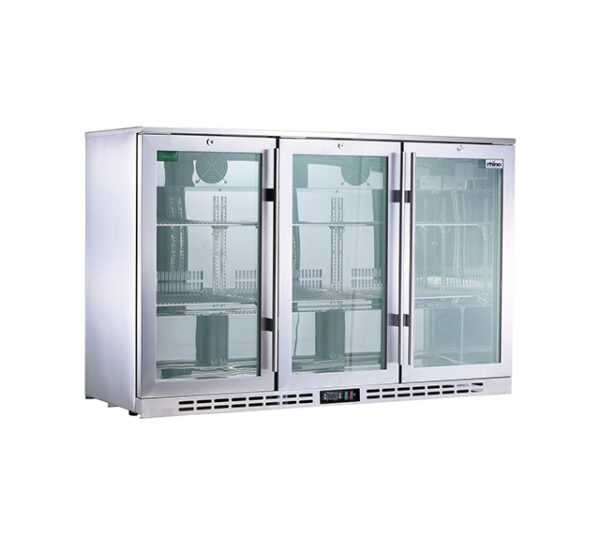 Rhino SG 3 Heated Glass Door Under Bench Fridge