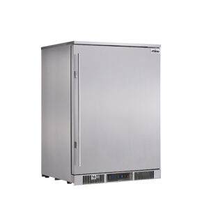 Rhino Envy single Stainless Steel door fridge Right hand hinge