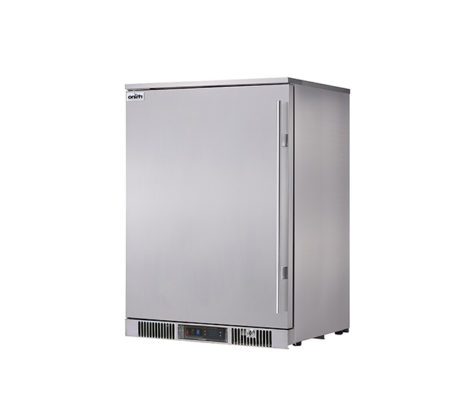 Rhino Envy single Stainless Steel door fridge Left hand hinge