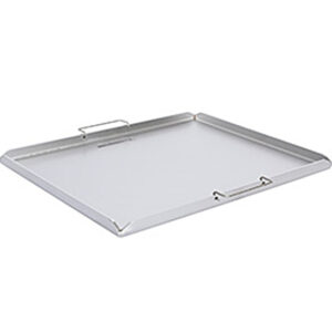 Stainless Steel Top Notch Hot Plate 485mm x 240mm