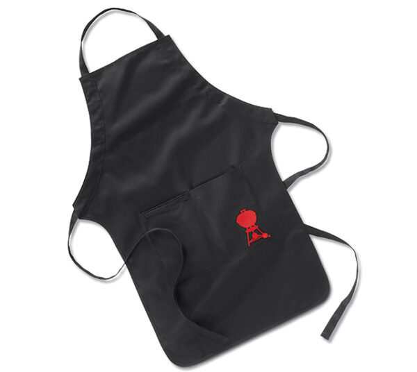 Weber Black and Red Apron