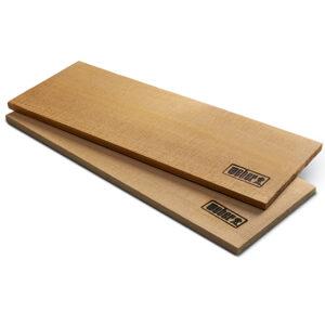 Weber Cedar Planks 38cm x 14cm (set of 2)