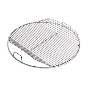 Hinged Cooking Grill for 57cm Weber Kettles
