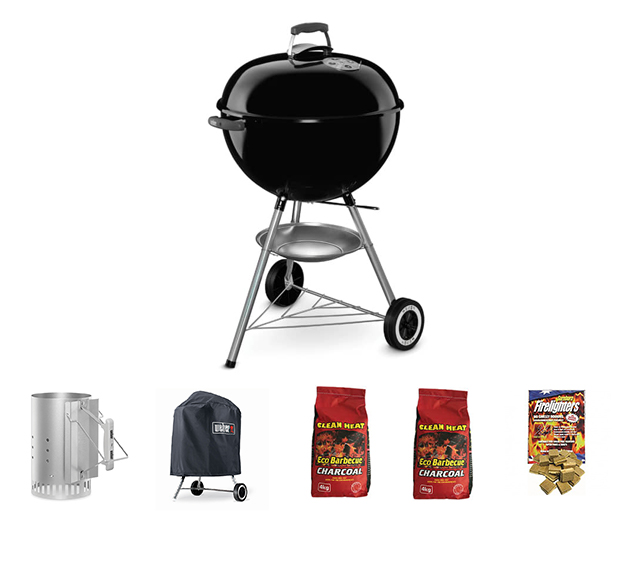 Weber Original Kettle (Black) Bundle