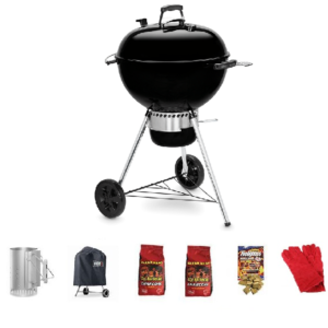 Weber Master-Touch Plus Kettle with GBS Bundle
