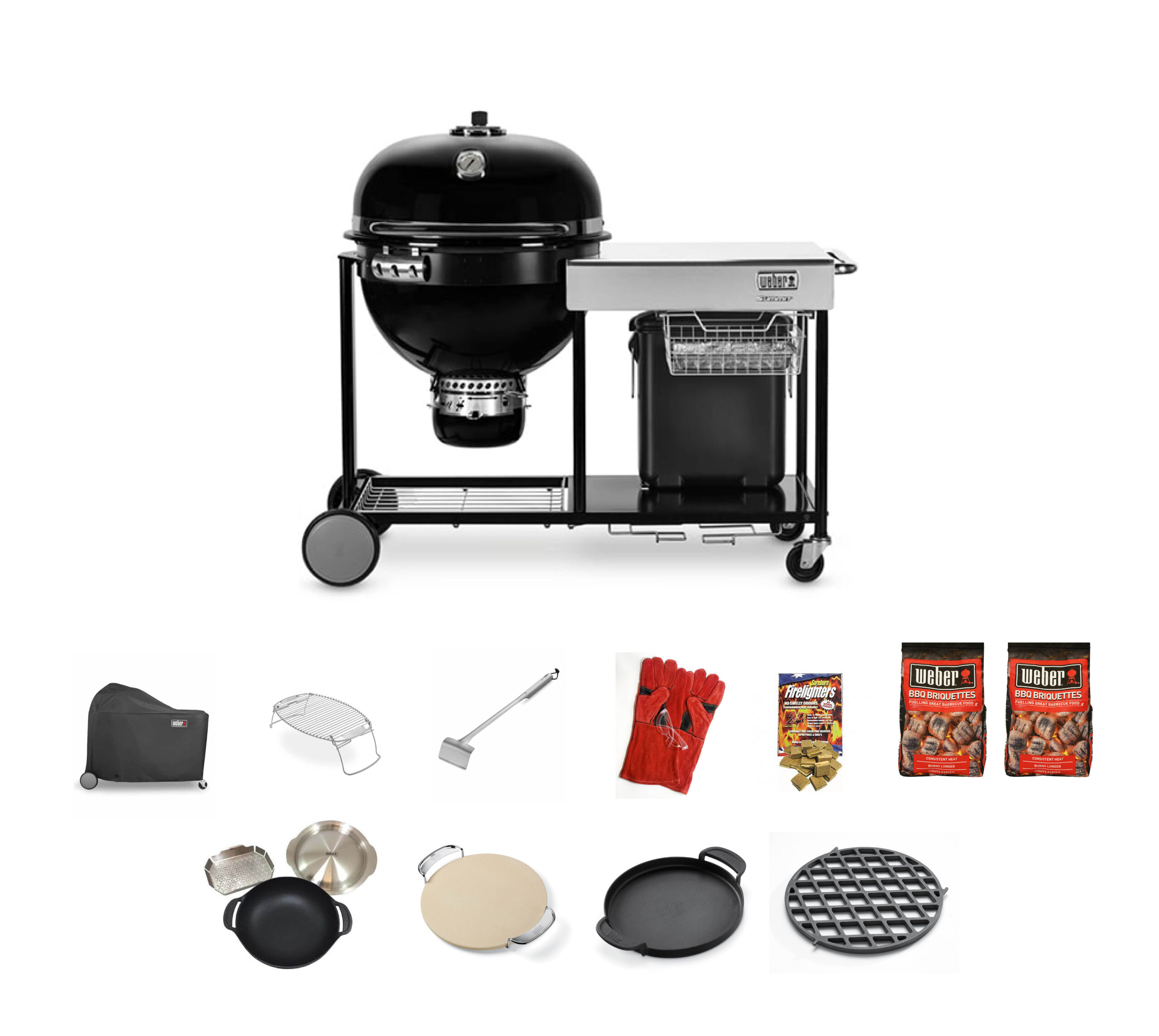 Weber Summit Charcoal Grill Centre Bbq Bundle 2 Call To Purchase Bbqs Plus
